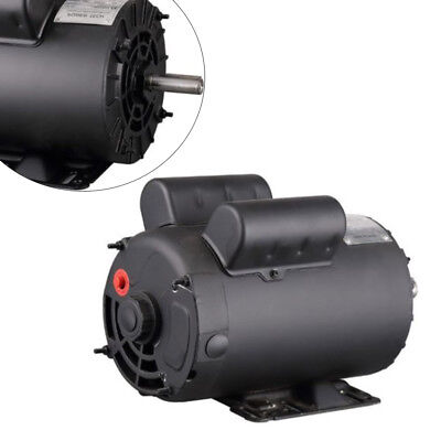 Saleelectric Motor 208-230v Century 5hp Spl 3450rpm Air Compressor Copper Wire