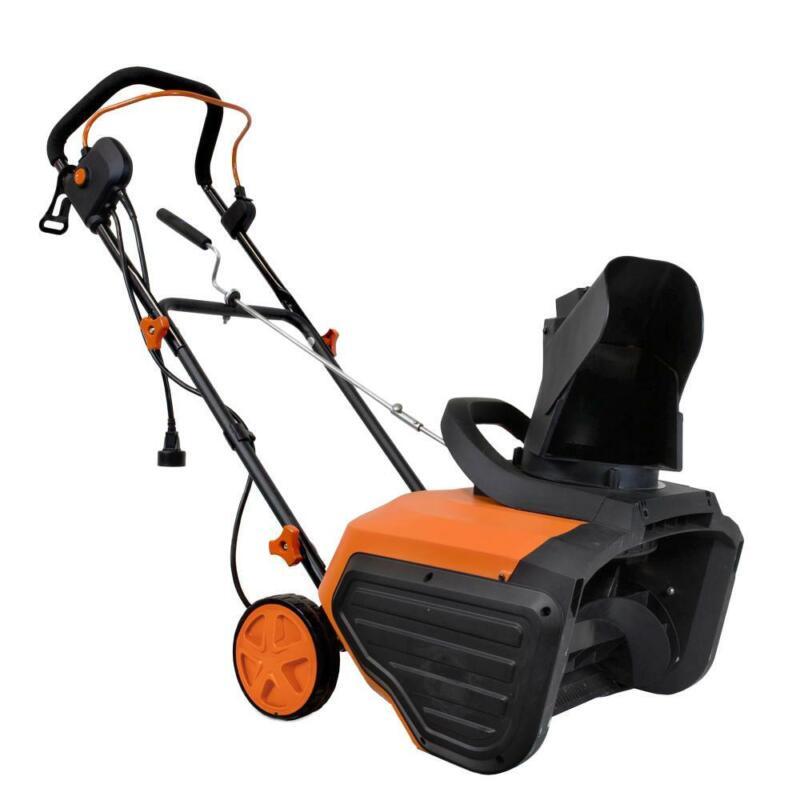 Wen Snow Blower Electric Snowblaster Collapsible Handle 13.5