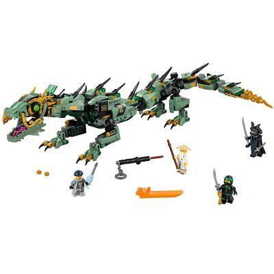 Lego Ninjago Movie Green Ninja Mech Dragon 544 Piece Building Kit 70612