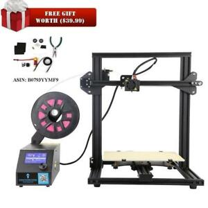 NEW Creality 3D CR-10 Mini 3D Printer 3D Printer Semi Assembled Aluminum with Heated Bed