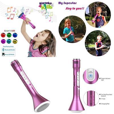 KOMVOX Kids Karaoke Microphone Machine For Girls Toddlers Best Toys,...