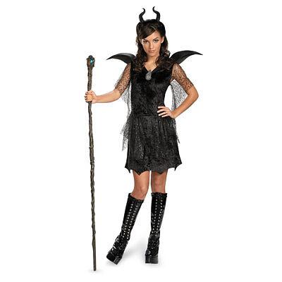 Costumes For Girl Tweens (Girls Tween Maleficent Black)