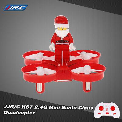 JJR/C H67 2.4G 4CH Mini Drone Santa Claus Quadcopter Christmas Distribute Gift D6J2