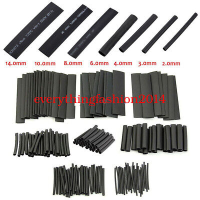 Test 127 Pcs Heat Shrink Tubing Wire Wrap Assort Electrical Connection Cable