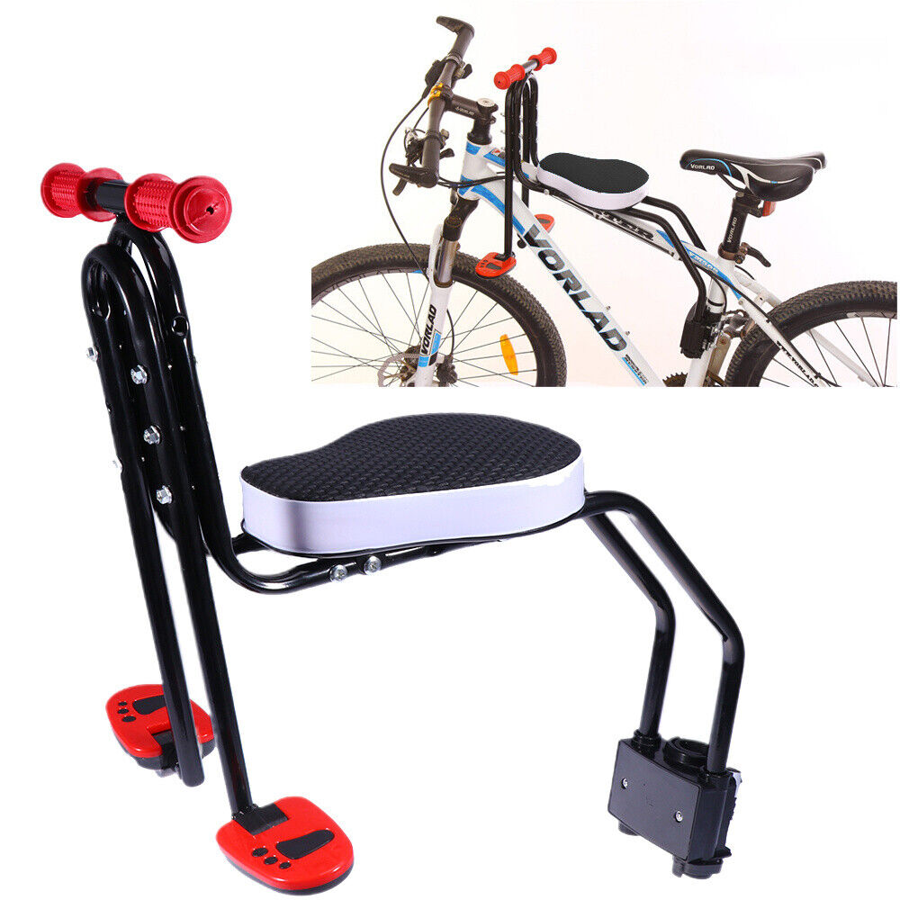 Kinderfahrradsitz Fahrrad Kindersitz Vorne Baby-Fahrradsitz 25kg Klappbar DEU
