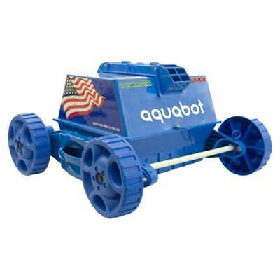 AQUABOT APRVJR Jr Above Ground Swimming Pool Electric Cleaner Rover (Open Box)