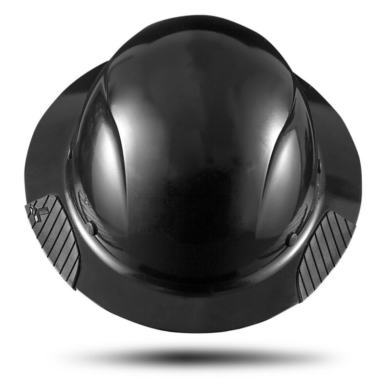 Lift Safety HDF-15KG Dax Fiberglass Composite Hard Hat - Matte Black