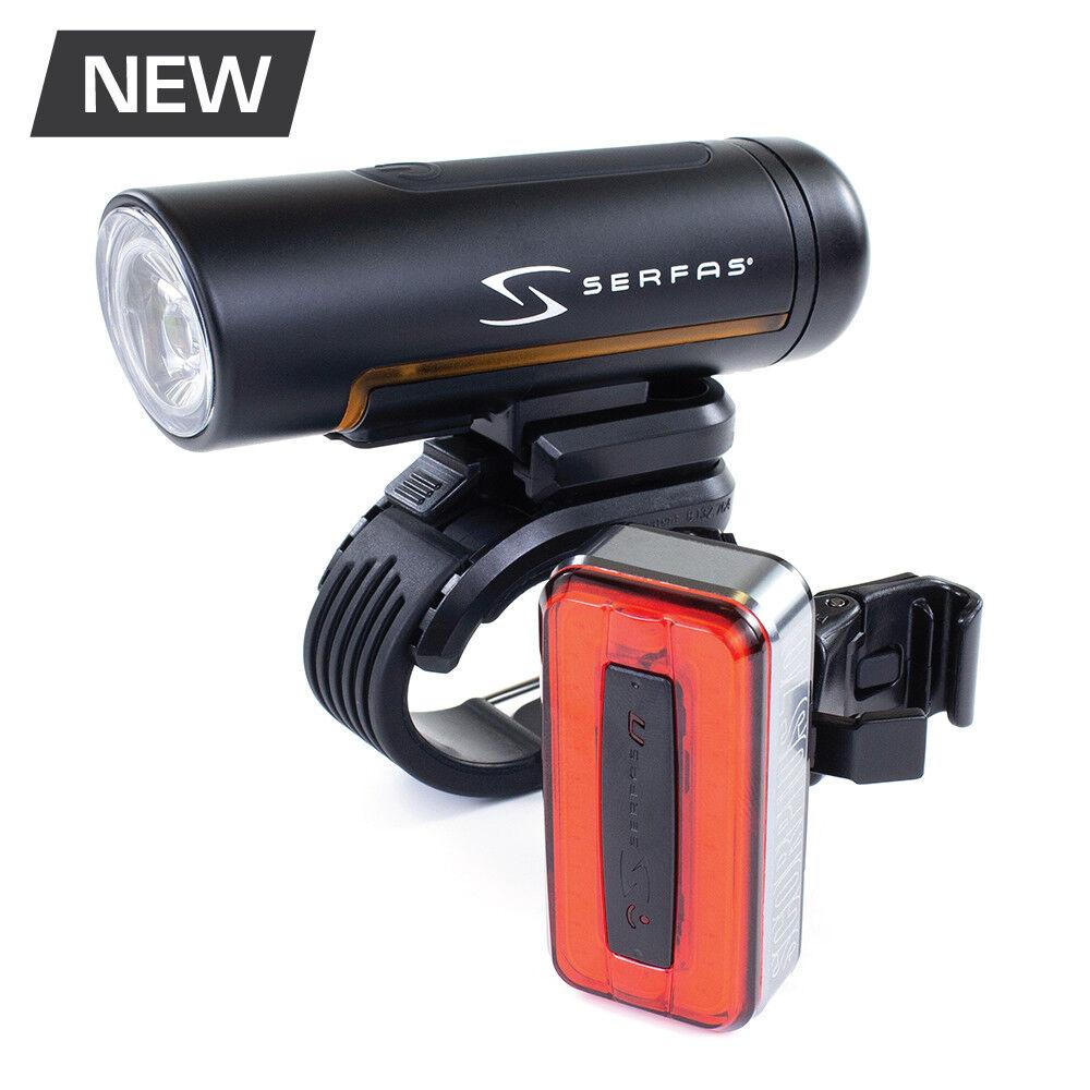 SERFAS TSC-4 True Series 500/70 Combo Bicycle Light Set
