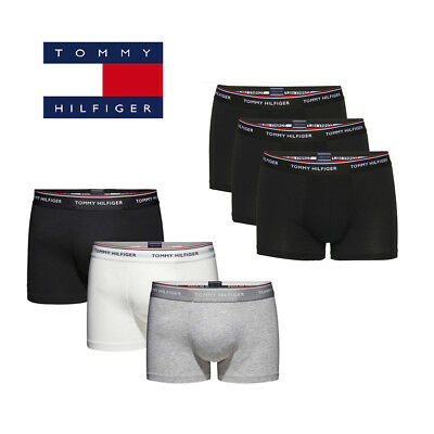 Neu Tommy Hilfiger Herren Boxershorts Premium Essentials Trunk Stretch 3er Pack ()