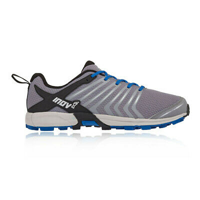 Inov8 Mens Roclite 300 Trail Running Shoes Trainers Sneakers Black Grey Sports