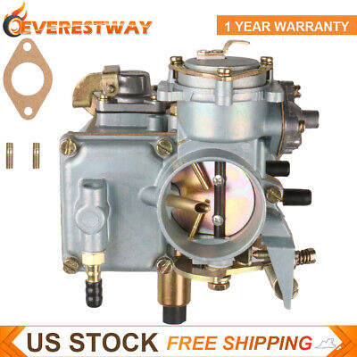 Carburetor For VW Campmobile Karmann Ghia Beetle 1.6L with Gasket 30/31PICT New