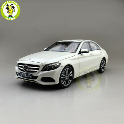 1/18 NOREV BENZ C CLASS 2014 Diecast Model Car Toys Boys Girls Gifts White