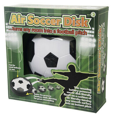 Air Power Soccer Disk - Children's Hovering Football Disc Indoor or Outdoor Toy