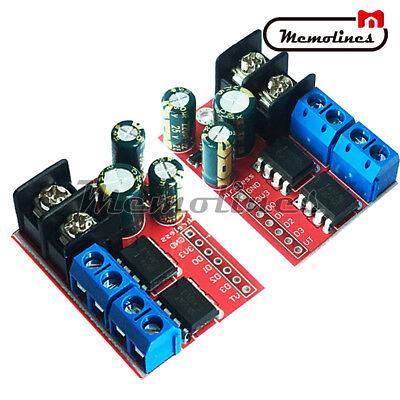 Dual Dc Motor Drive Remote Control Double H-bridge Pwm Speed Control Module 5a