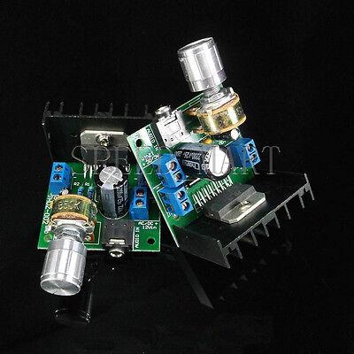 DIY AC/DC 12V TDA7297 2*15w Dual-Channel Audio Amplifier Board 15w+15w NEW