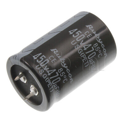18-01-0874 Snap In Capacitor 450v 470uf 85c 30x45mm
