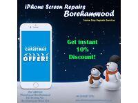 Apple iPhone 6s Plus/6/5/5s/5c iPad LCD Screen Digtizer Glass Repair Replacement Service Borehamwood
