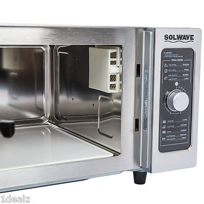 1 Commercial Microwave Oven 1000 Watt With Dial Control Free Shipping Rebate