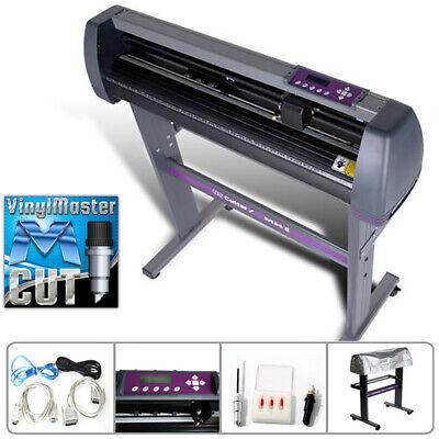28 Vinyl Cutter Sign Cutting Plotter Wvinylmaster Design Cut - Us Cutter