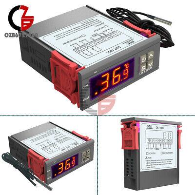 Dst1000 Stc1000 Dc 12-72v 12v 24v Ac 110-220v Thermostat Temperature Controller