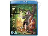JUNGLE BOOK BLU RAY DVD BRAND NEW AND SEALED BARGAIN !