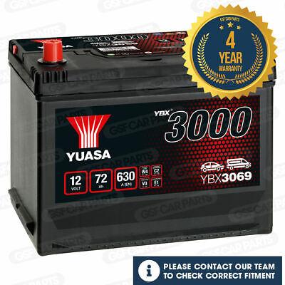 Yuasa YBX3069 SMF Battery for Rolls-Royce Silver Shadow 1977-1980