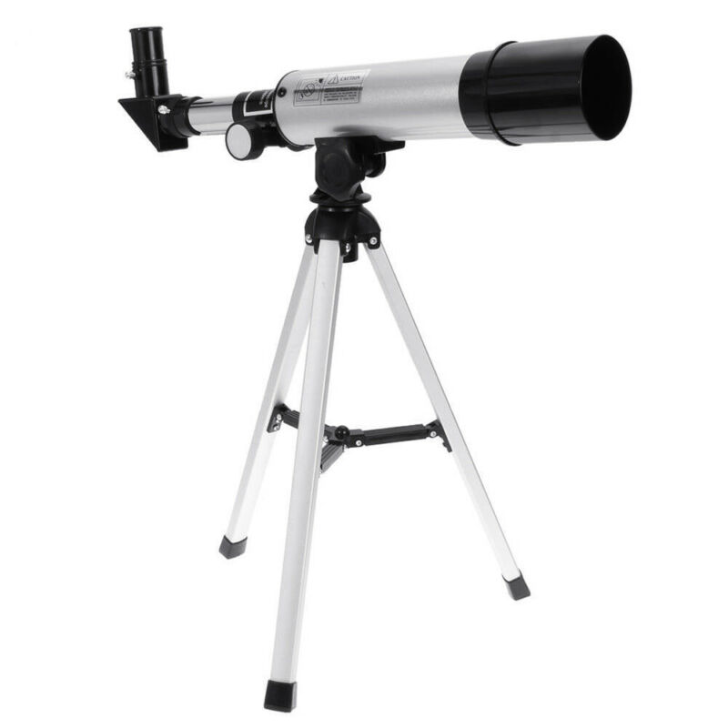 Professional Astronomical Monocular Telescope Moon Refractor Teleskop w/ Tripod