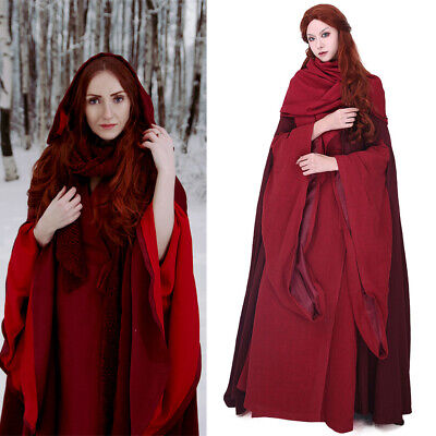 Game of Thrones The Red Woman Lady Melisandre of Asshai Melisandre Costume - Game Of Thrones Melisandre Costume
