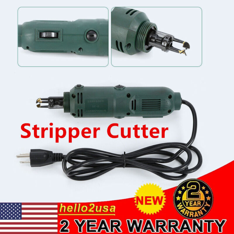 Pro Handheld Magnet Wire Stripping Stripper Cutter Machine 12500 r / min 110V