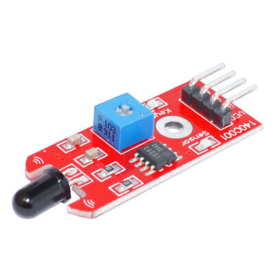 Keyes Ir Infrared Flame Detection Fire Detector Sensor Module For Arduino