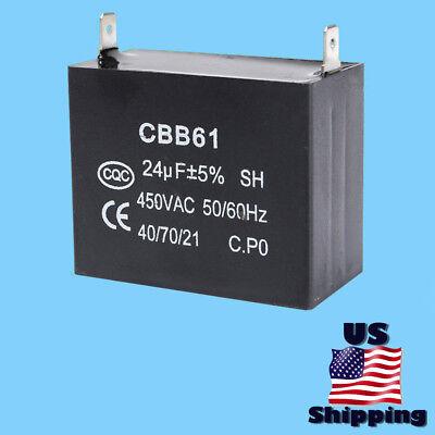 Powermate 24uf Capacitor For Pm0543250.01 3250 Watt 6hp Gas Generator Cbb61