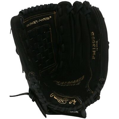 Black Baseball Glove - New Rawlings Playmaker PM1300B baseball softball 13