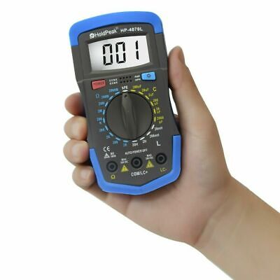 Rlc Meter Inductance Capacitance Resistance Multimeter Ohm Inductor Cap Tester