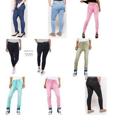 Damen Mozzaar Plus Size Boyfriend Jeans 6194 Ital-design (Plus Size Designer)