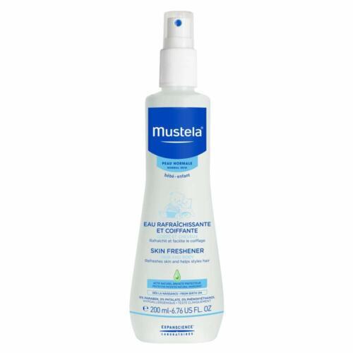 Mustela Skin Freshener, Freshen Skin and Style Hair, for Baby,  6.76 Oz