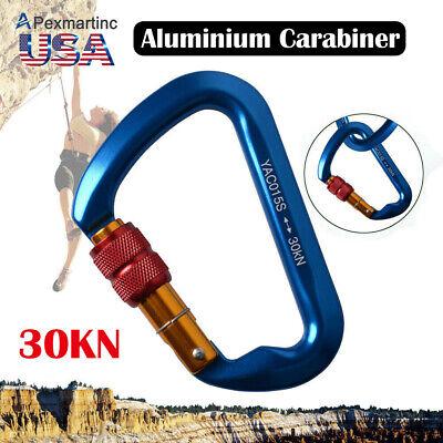 USR Aluminum Carabiner 27kn Twist Lock 27KN 6000Lb Triple Lock USR-107-A3T