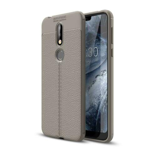 Just in Case Nokia 7.1 Back Cover Grijs