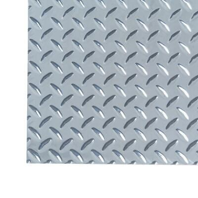 M-d Building Products Aluminum Sheet Diamond Tread Heavy Weight Silver 3 X 3 Ft