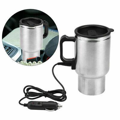 Calentador de Agua Taza Café Coche Eléctrico Viaje Encendedor Cigarrillos