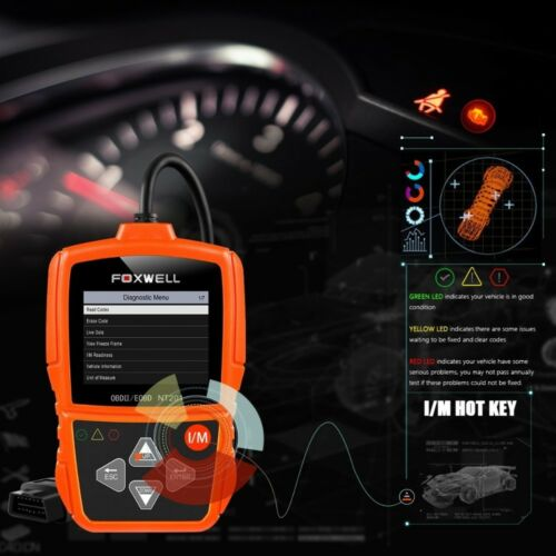 Owner Automotive OBD2 EOBD Code Reader Scanner Car Diagnostic Engine Light Check Tool