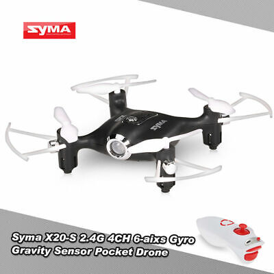 SYMA X20 Mini RC Quadcopter Pocket Drone 2.4Ghz 4CH Altitude Hold Headless...