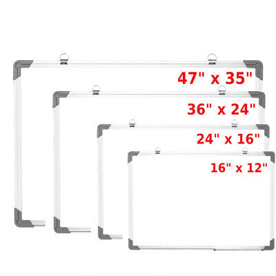 162435 Office Aluminum Frame Magnetic Whiteboard Dry Erase Board With Pen