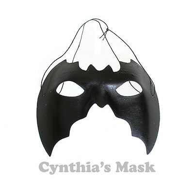 Black Bat Eye Mask Masquerade for Halloween Costume Party Cosplay Prom