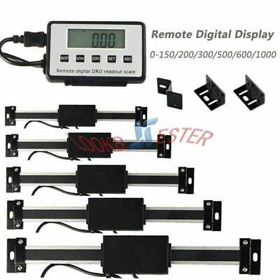 Dro Digital Readout Linear Scale Magnet Remote Lcd Display Cnc Milling Lathe