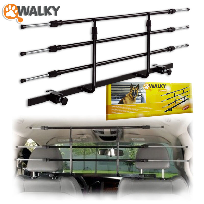 Walky Guard Car Barrier for Pet Dog Auto  Automotive Safety 2019 Open box