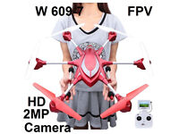 Pathfinder 2 5.8G FPV 6 Axis Gyro 4.5CH 2.4G RC Hexacopter with 2.0MP HD Camera Drone RED