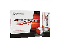 New TaylorMade Burner Soft Golf Balls 2016 (one Dozen)