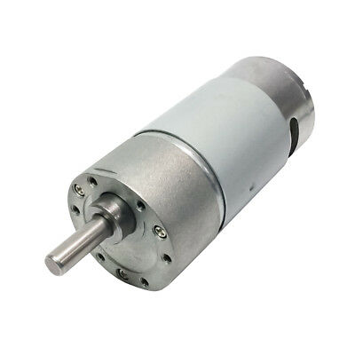 Dc 12v Micro Reversible Gear Motor High Speed 280rpm For Diy Robot Part