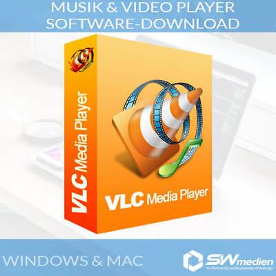 VLC MEDIA PLAYER FÜR DIVX MPEG MP4 AVI MKV CD DVD VCD SOFTWARE DOWNLOAD