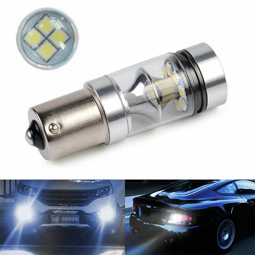 2x H8 708 Xenon Bulbs 100w 12v White PGJ19-1 To Fit Fog Light Volvo XC60 T5